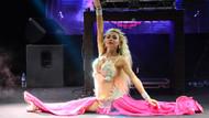 Oryantal Didem'den cesur dans: Tansiyonu olanlar izlemesin