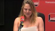 Fransız komedyen Constance Pittard canlı yayında soyundu