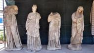 Magnesia Antik Kenti'nde 2 bin yıllık 6 heykel bulundu