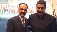İbrahim Kalın'dan Maduro'ya destek: Stay strong mi amigo
