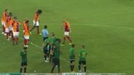 Galatasaray Akhisarspor maçında Maicon ile Gomis arasında neler yaşandı?