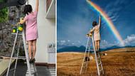 Photoshop ile sıradan fotoğrafları büyüleyici bir hale getiren kadının çalışmalarını görmelisiniz