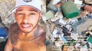 Lewis Hamilton'dan insanlık dersi! Mykonos'da çöp topladı