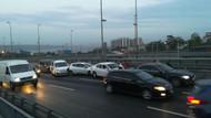 Son dakika: İstanbul'da zincirleme kaza: Trafiğe takılmak istemeyenler geri geri kaçtı