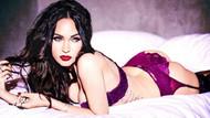 Megan Fox'un iç çamaşırlı tanıtımı göz kamaştırdı
