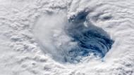 Florence Kasırgası uzaydan böyle görüntülendi