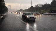 İstanbul'da sel alarmı! Beklenen yağış başladı