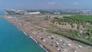 Antalya'da denize sıfır obalarda ücretsiz tatil kıskandırıyor