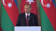 Cumhurbaşkanı Erdoğan'dan Yukarı Karabağ mesajı