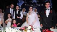 Bersuva aşireti liderinin kızı dillere destan düğünle evlendi