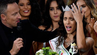 Güzellik yarışmasına katılan engelli genç kız İtalya üçüncüsü oldu