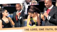 Ariana Grande'ye cenaze töreninde papazdan taciz