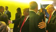 Cumhurbaşkanı Erdoğan ile ABD Başkanı Donald Trump görüştü
