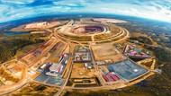 Devasa elmas çukuru Mir Madeni görenleri büyülüyor