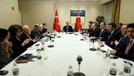 Erdoğan New York'ta Yahudi kuruluşlarının temsilcileriyle görüştü