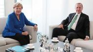 Erdoğan'ın Merkel ile görüşmesi başladı