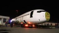 Millet Kıraathanesi yapılacak uçağın nakil işlemi tamamlandı