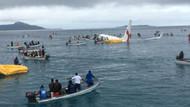 Görenler şaşkına döndü! Pisti ıskalayan yolcu uçağı denize indi
