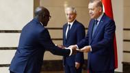 Erdoğan Gabon Büyükelçisini kabul etti