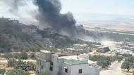 Suriye ordusu İdlib'i topçu ateşiyle vurmaya başladı