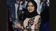 Güzellik yarışması finalinde başörtülü yarışmacı sürprizi