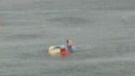Bostancı sahili açıklarında helikopter düştü