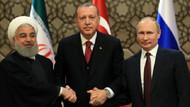 Erdoğan, Putin ve Ruhani zirvesi başladı