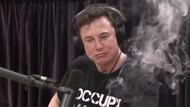 Elon Musk canlı yayında esrar içti