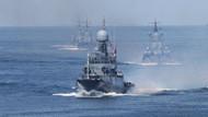 Rusya'dan NATO'ya gözdağı! Akdeniz'deki tatbikatın görüntülerini yayınladı