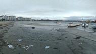 Korkutan manzara: Deniz 20 metre çekildi