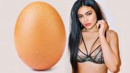 Instagram'da Kylie Jenner'ın beğenme rekorunu yumurta kırdı