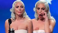 Lady Gaga 24. Critics Choice Ödülleri'nde gözyaşlarına hakim olamadı