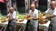 Çiğköfteci Ali Usta çocuk adam videosuyla sosyal medyayı salladı