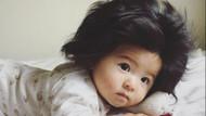 Saçları doğuştan şans getirdi, milyonluk bebek