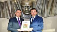 Ekrem İmamoğlu Fenerbahçe Spor Kulübü Başkanı Ali Koç'u ziyaret etti