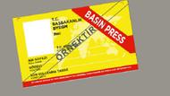 Sarı Basın Kartı düzenlemesi TBMM gündeminde
