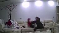 Bebeğe akıl almaz işkence... Bakıcı dehşeti gizli kamerada
