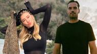 Şeyma Subaşı sevgilisi DJ Guido Senia'nın atkısıyla İstanbul'a döndü