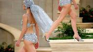 Paris Haute Couture Haftası'na Chanel damga vurdu! Bu yaz gelinler mayo giyecek