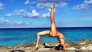 Meghan Markle'ın yoga pozu Instagram'da moda oldu