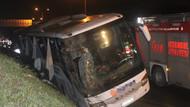 İstanbul'da yolcu otobüsü devrildi: 2 ölü, 3'ü ağır 21 kişi yaralı