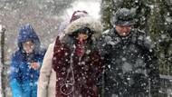 Meteoroloji'den İstanbul'a kuvvetli kar yağışı uyarısı