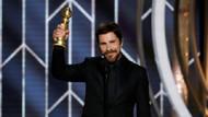 Christian Bale ödül konuşmasında Şeytan'a teşekkür etti