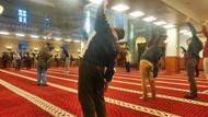 Namazda bereket sporda hareket var diyen cemaat, camide spor yaptı