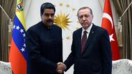 Son dakika: Cumhurbaşkanı Erdoğan Nicolas Maduro ile görüştü