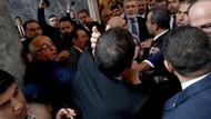 AKP ve HDP'li vekiller Meclis kulisinde yumruklaştı