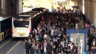 Bu kez de Zincirlikuyu metrobüs durağında kaos