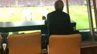 Aziz Yıldırım 1 yıl sonra Fenerbahçe Stadı'nda maç izledi