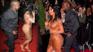 Kim Kardashian ve Kanye West'in elbise tartışması