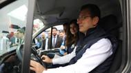 İmamoğlu şoför koltuğuna oturdu: Halk Süt yola çıktı